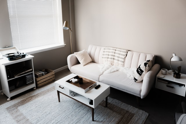 white-couch in apartment 1